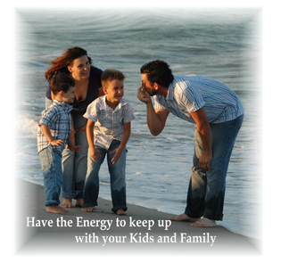 Have the Energy to keep up with your kids and family. That is what the QEnergySpa, BEFE could do for you!